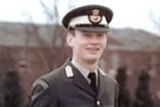 David Wood in the RAF Regiment.