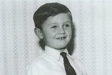 A young David Wood.