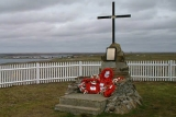 The Goose Green Memorial.
